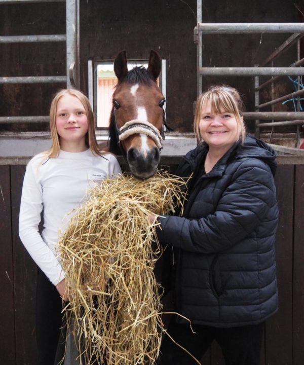 Ponymor.dk ambassadør Lucia Langvad